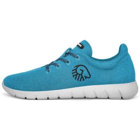 Giesswein Merino Wool Runners Mujer, cyan blue